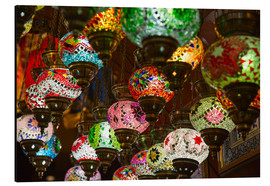 Alu-Dibond  Traditional turkish lamps