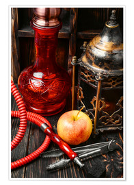 Hookah tobacco with apple