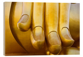 Wood  Fingers of the Buddha