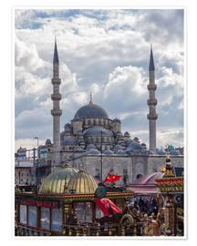 Premium poster  A mosque in Istanbul