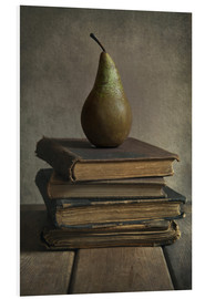 Forex  Still life with books and pear - Jaroslaw Blaminsky