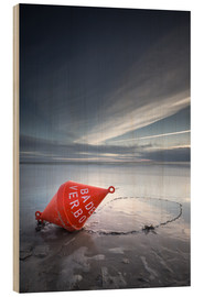 Wood print  Small buoy - PhotoArt Hartmann