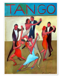 Premium poster The Tango Performance