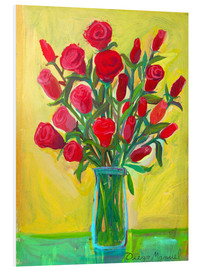 Forex  Red roses III - Diego Manuel Rodriguez