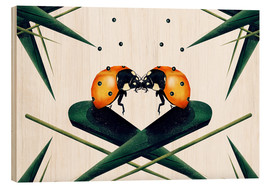 Wood  Bugs in Love - Romina Lutz