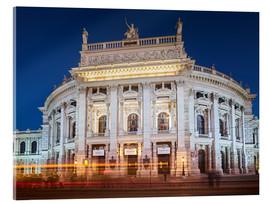 Acrylic glass  Burgtheater - Rainer Mirau