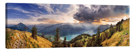 Canvas print  Rofangebirge with Achensee - Michael Rucker