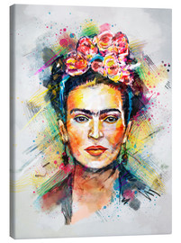 Canvas print  Frida Flower Pop - Tracie Andrews