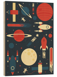 Wood  Space Odyssey - Tracie Andrews