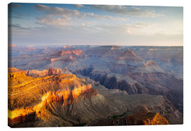 Canvas print  Sunrise of Grand Canyon South Rim, USA - Matteo Colombo