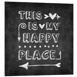 Forex  happy place chalk - Andrea Haase