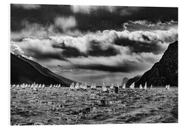 Foam board print  Lake Garda Meeting Optimist - Sebastian Rost