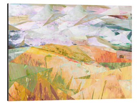 Aluminium print  Wheatfields in Summer - David McConochie