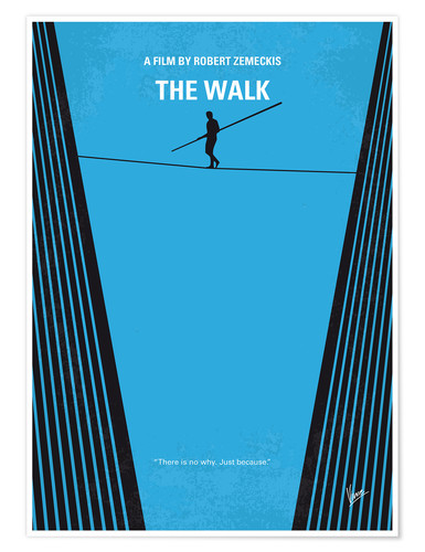 Premium poster No796 My The Walk minimal movie poster