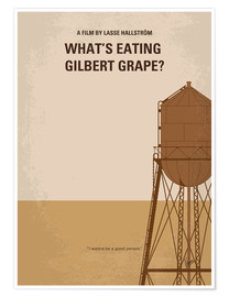 Premium poster No795 My Whats Eating Gilbert Grape minimal movie poster