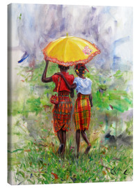 Canvas print  yellow parasol - Jonathan Guy-Gladding