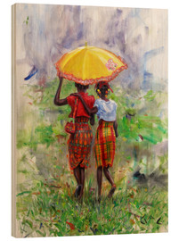 Jonathan Guy-Gladding - yellow parasol