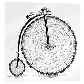 Acrylic print  Wooden bicycle - Nikita Korenkov