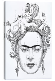 Canvas print  Frida Octopus - Nikita Korenkov
