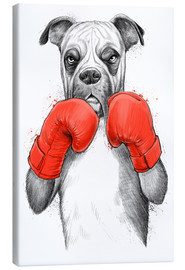 Canvas print  German boxer - Nikita Korenkov