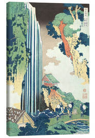 Canvas print  Ono Waterfall on the Kisokaid? - Katsushika Hokusai