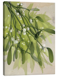 Canvas  Christmas Mistletoe - Ashley Verkamp