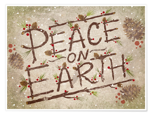 Premium poster Peace On Earth
