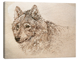 Canvas  The Gray Wolf - Ashley Verkamp