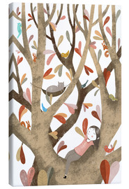 Canvas  In the Tree No 2 - Judith Loske