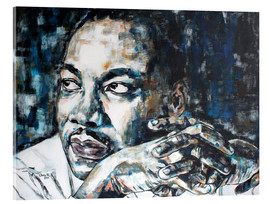Acrylic print  Martin Luther King - Christel Roelandt
