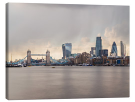 Canvas print  City of London Skyline - Mike Clegg Photography