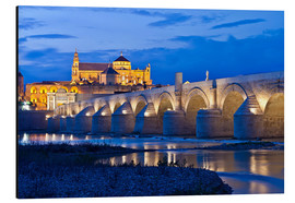 Aluminium print  Evening ambience in Cordoba - Jörg Gamroth