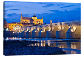 Canvas print  Evening ambience in Cordoba - Jörg Gamroth