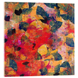 Acrylic print  Falling Leaves - David McConochie
