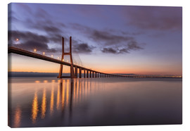 Canvas  Ponte Vasco da Gama Lisbon - Achim Thomae