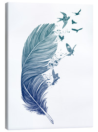 Canvas print  Fly away - Rachel Caldwell