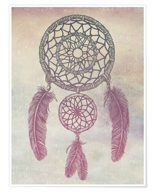 Premium poster Dream Catcher Rose