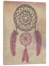 Wood  Dream Catcher Rose - Rachel Caldwell