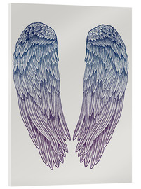 Acrylic glass  Angel Wings - Rachel Caldwell
