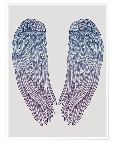Premium poster Angel Wings
