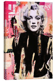 Canvas print  Marilyn Monroe - Michiel Folkers