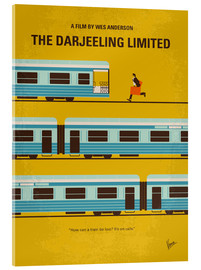 Acrylic glass  No800 My The Darjeeling Limited minimal movie poster - chungkong
