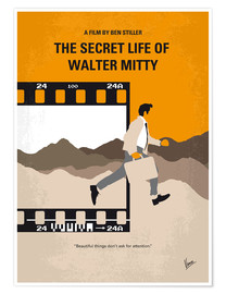 Premium poster The Secret Life of Walter Mitty