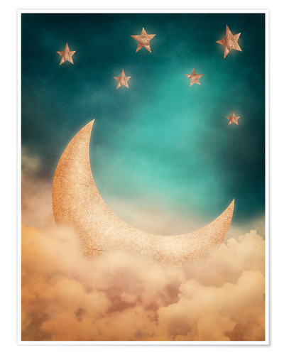 Premium poster Magic moon
