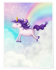 Elena Schweitzer - Unicorn with rainbow