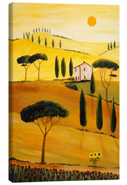 Canvas  Colored Tuscany - Christine Huwer