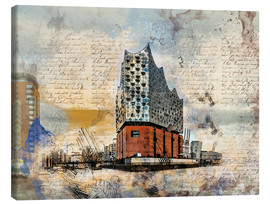 Canvas print  The new Elbphilharmonie in Hamburg - Peter Roder