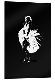 Acrylic glass  Marilyn Monroe - tom