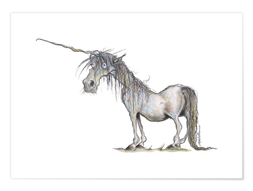 Premium poster The last Unicorn