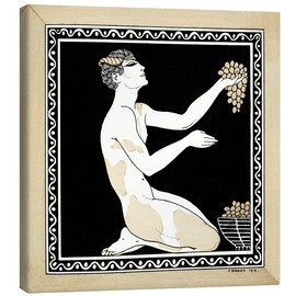 Canvas  Nijinsky as a faun in the ballet - Georges Barbier